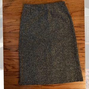 Dresses & Skirts - Black and grey boucle skirt